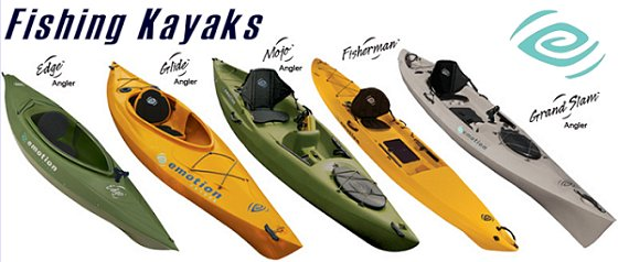 Emotion kayaks for Emotion fishing kayak