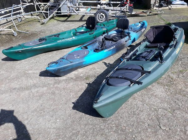 Second Hand Wilderness And Ocean Fishing Kayaks New Used Sit On Kayaks Fishing Kayaks Touring Kayaks Sea Kayaks Surf Kayaks Emotion Kayaks Canadian Canoes Inflatable Kayaks Ireland